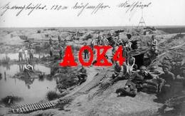 MESSINES Wytschaete Kemmel 1918 IR 106 Mine Mijn Spanbroekmolen Flandern Krater Trichter Comines Warneton - Guerre 1914-18