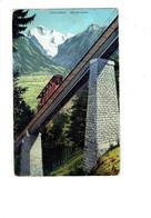 Cpa - Suisse - Interlaken - HARDERBAHN - Funiculaire - 1911 - N°1182 GABLER - Funicular Railway