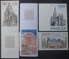 R1591/340 - 1981 - SERIE TOURISTIQUE (COMPLETE) - N°2132 à 2135 NEUFS** ND - France