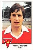 PIE.T.19-8010 : FOOTBALL 1979. IMAGE PANINI N°195.  NIMES. ATTILIO MORETTI. - Soccer