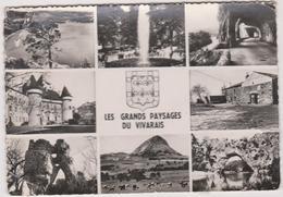 07 Les Grands Paysages Du Vivarais  Aubenas Ruoms  Le Gerbier Des Joncs Etc - France