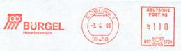 Freistempel 7228 Eule Bürgel Inkasso - Poststempel - Freistempel