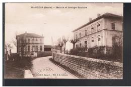 CPA-38-1932-NANTOIN-MAIRIE ET GROUPE SCOLAIRE- - Autres Communes