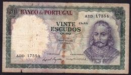 Portugal - 20 Escudos, D. António Luiz De Meneses / 23 Julho 1960 - Portugal