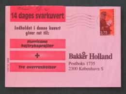 Denmark 1998 Cover To Copenhagen - Postman - Danimarca