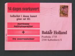 Denmark 1998 Cover To Copenhagen - Flowers - Danimarca