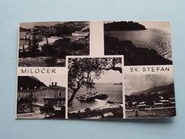 Milocer - SV. Stefan ( Ozebih ) Anno 1957 ( See / Voir / Zie Photo ) ! - Montenegro