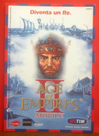 Tim Telefonia Mobile Age Of Empires Pubblicità Cartolina Promocard 5604 Anno 2005 - Pubblicitari