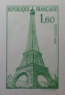 R1591/308 - 1982 - ENTIER POSTAL - INAUGURATION DU BUREAU DE POSTES PARIS TOUR EIFFEL - N°429-CP1 (CP VIERGE) - Ganzsachen
