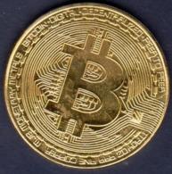 Bitcoin  Placcato ORO  Moneta Bitcoin Da Collezione Regalo BTC Moneta Arte Raccolta - Non Classificati