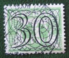 30 Ct Guilloche (Traliezegels) NVPH 365 (Mi 366) 1940 Gestempeld / Used NEDERLAND / NIEDERLANDE - Period 1891-1948 (Wilhelmina)