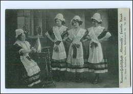 Y12208/ Konzert-Gesellschaft Almrausch, Familie Knack Aus  Bochum AK Ca.1925  - Sonstige