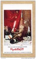Image Pub Champagne MUMM - écrite - 8 X 13 Cm - Toulon - Altri