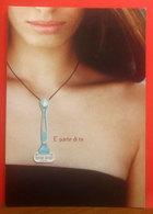 GILLETTE Venus - Donna Pubblicità Cartolina Promocard 5468 - Pubblicitari