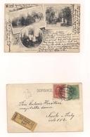 Karte Samt Inhalt EINGESCHRIEBEN 11.7.1918 Von Kral. Vinobrady - Czechoslovakia