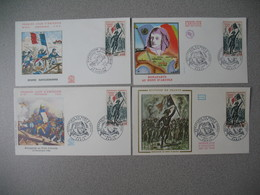 FDC France 1972  N° 1730 - 1970-1979