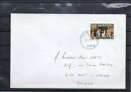 UN-NATO- BELGIAN TROOPS - SLOVENIA - AMF (L)  TO BELGIUM 1998  - UN1 - Postmark Collection