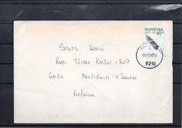 UN-NATO- BELGIAN TROOPS - SLOVENIA - COOPERATIVE ADVENTURE EXCHANGE  TO BELGIUM 1998  - UN1 - Postmark Collection