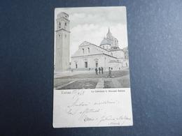 19965) TORINO CATTEDRALE S. GIOVANNI BATTISTA VIAGGIATA 1908 - Churches