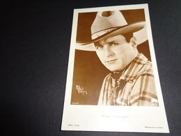 Artiste ( 120 )  Acteur De Cinema  Ciné  Film  Filmster  :  Cowboy Fred Thomson - Attori
