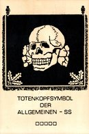 SS Totenkopfsymbol Der Allgemeinen SS   PROPAGANDAKARTE  NAZI - Guerre 1939-45