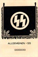 Der Allgemeinen   SS   PROPAGANDAKARTE  NAZI - Guerre 1939-45