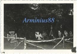 Campagne De France 1940 - Pas-de-Calais - Auchy-au-Bois - Soldatengräber - Tombes De Waffen-SS - Norrent-Fontes - War, Military