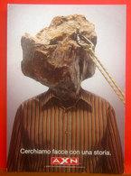SKY AXN Faces Pubblicità Cartolina Promocard 7122 - Pubblicitari