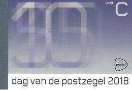 NEDERLAND, 2018, PRESTIGE BOOKLET, PR 79, Stamp Day - Postzegelboekjes En Roltandingzegels