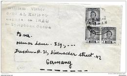 99 - 47 - Enveloppe Envoyée De Baghdad En Allemagne 1948 - Irak