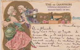 Illustateur Nover--Vins De Champagne  Théophile Roederer& Cie En Galante Compagie  .  Scan - Illustratoren & Fotografen