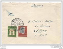 77 - 33 -   Enveloppe Envoyée De Schramberg 1953 - BRD