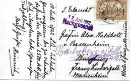 Múnchen Avec Reenvoie, Carte Postal 1922 Voir 2 Scan - Deutschland