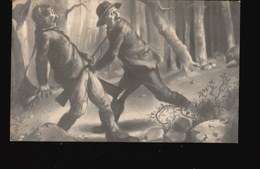 CPA254.....ILLUSTRATION CHASSE A L OURS - Chasse