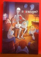 BIANCANEVE E I 7 NANI Halloween Night 2005 Birra Tennent's Super Pubblicità Cartolina Promocard 5838 - Pubblicitari