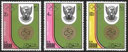 V) 1976 SUDAN, 21ST OLYMPIC GAMES, MONTREAL, CANADA,MNH - Sudan (1954-...)