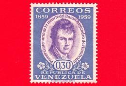 VENEZUELA - Usato - 1960 - 100 Anni Della Morte Di Alexander Von Humboldt (1959) - 0.30 - Venezuela