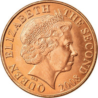 Monnaie, Jersey, Elizabeth II, 2 Pence, 2008, SPL, Copper Plated Steel, KM:104 - Jersey