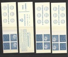 HA 12D 1964 MNH Slot Machin Booklets, Set Of 4 - Carnets
