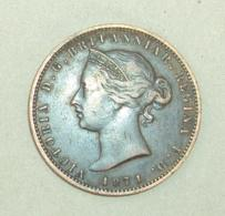 Monnaie 026, Jersey One Thirteenth Of A Shilling 1871 Victoria - Jersey