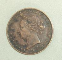 Monnaie 030, Jersey One Twenty-Fourth Of A Shilling 1877 Victoria - Jersey