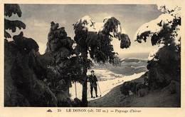 Le Donon Grandfontaine Canton Schirmeck Ski - France
