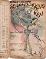 CAF CONC ROMANCE FRAGSON PARTITION L'ÉTERNELLEMENT VRAI VARNEY 1894 ILL ULYSSE ROY ALLÉGORIE LA FAUX LA MORT LE SABLIER - Otros