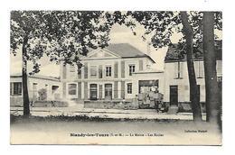Blandy-les-Tours -La Mairie-les écoles- Tampon Militaire Au Dos.(D.2098) - Other Municipalities