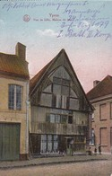 CPA Ypres - Rue De Lille - Maison De Bois - Feldpost 1. J.R. 179 - 1915  (42759) - Ieper