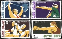 V) 1976 SAMOA, 21ST OLYMPIC GAME, MONTREAL CANADA, MNH - Samoa