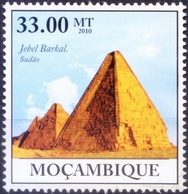 UNESCO World Heritage Site, Gebel Barkal In Sudan, Mozambique 2010 MNH ( - Otros