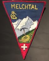 Melchtal,  Petit Patch écusson. Suisse - Ecussons Tissu