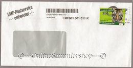 Privatpost - LMF - Umschlag - Marke: Sumatra-Tiger (Panthera Tigris Sumatrae) -4/2013 - BRD