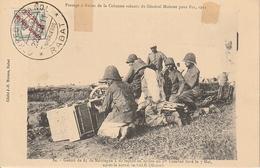 RABAT -- Passage De La Colonne Volante Du Général MOINIER Pour FEZ En 1911 - Rabat